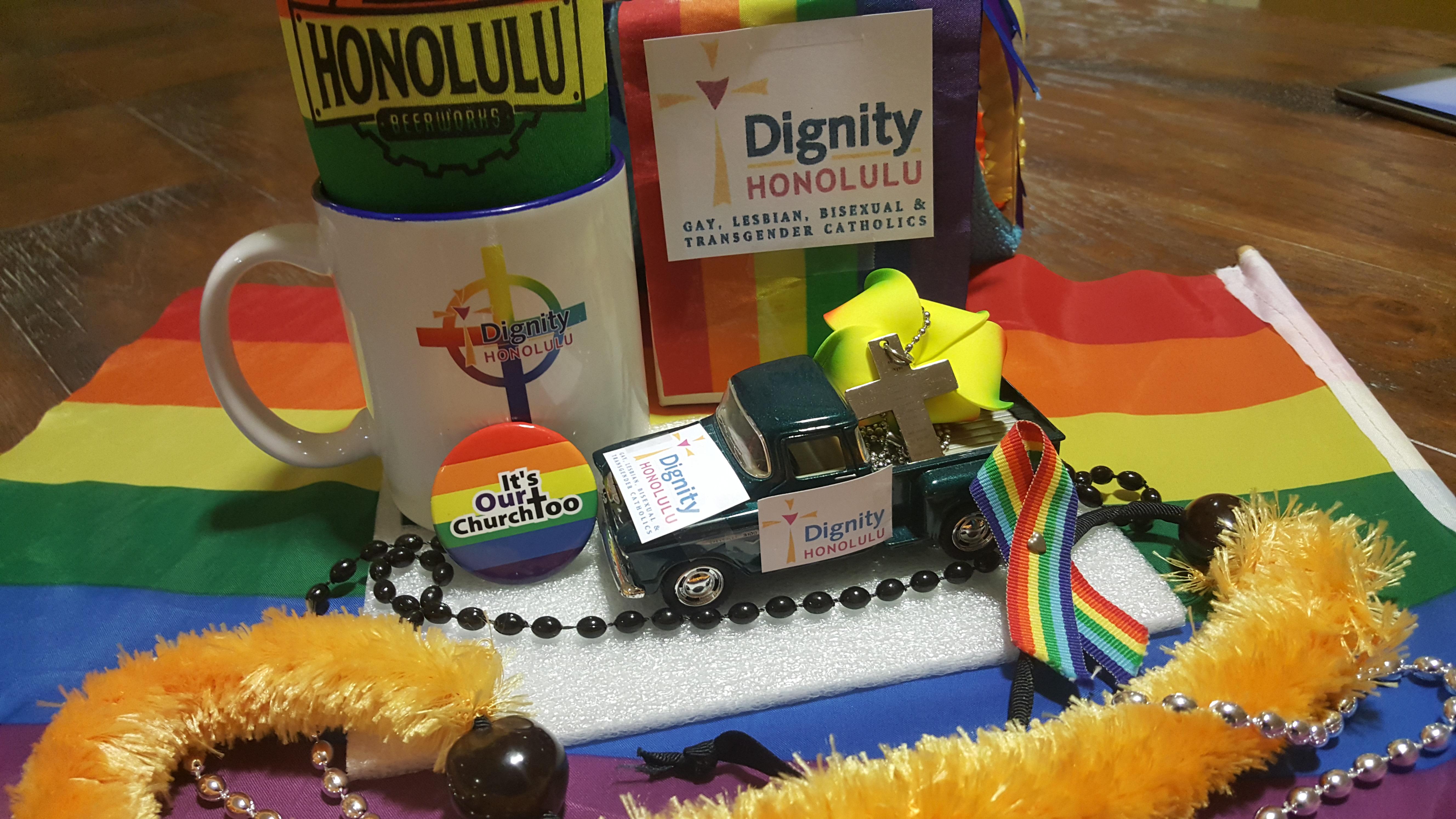 Dignity Honolulu Tiny Float for Honolulu Virtual Pride Parade 2020