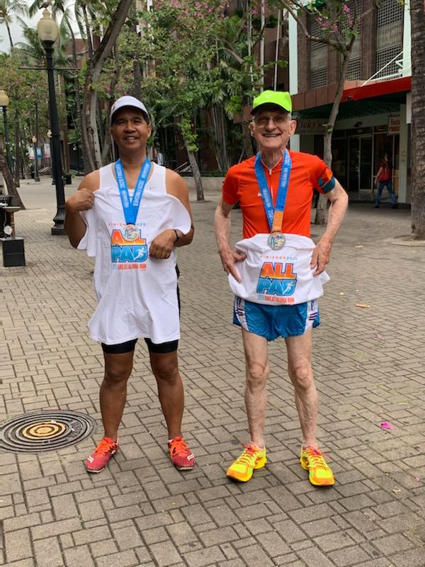Gene and Jim Great Aloha Run 2020