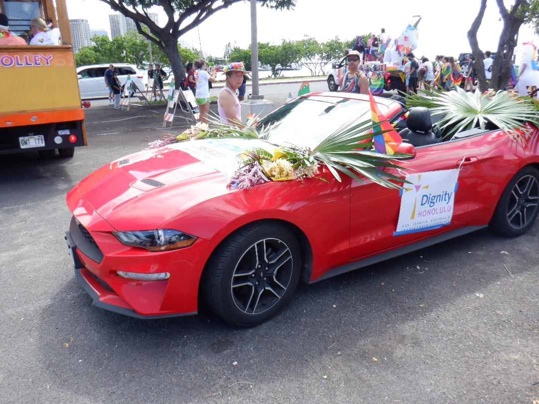 Pride Parade Car 2019